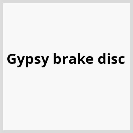 Gypsy-brake-disc