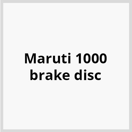 Maruti-1000-brake-disc