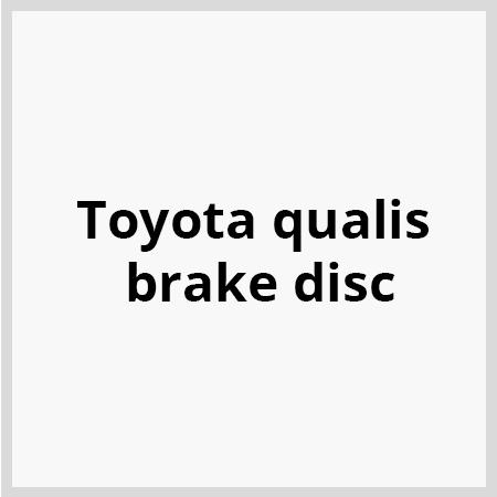Toyota-qualis-brake-disc