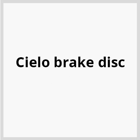 Cielo-brake-disc