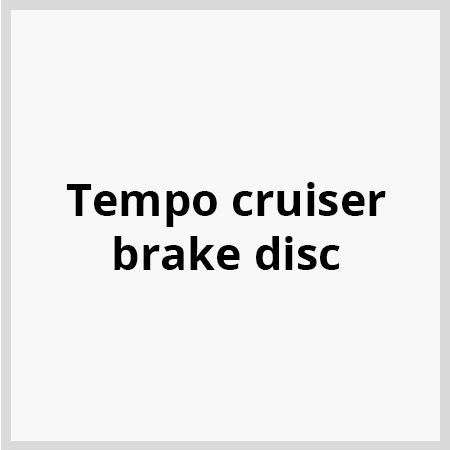 Tempo-cruiser-brake-disc